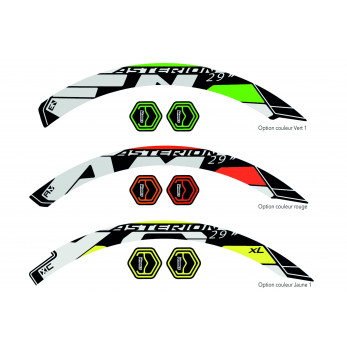 Stickers Asterion VTT